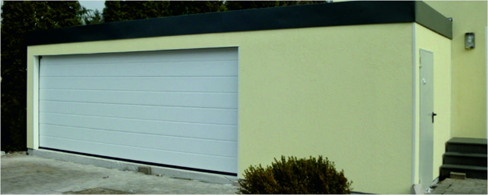 Fertig doppelgarage mit abstellraum  Isolierte Fertiggaragen - ISO-Garagen - Doppelgarage ...